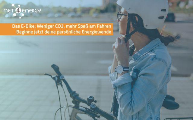 CO2 Energiewende net4energy E-bike