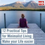 12 Practical Tips for Minimalist Living: Make your Life eas