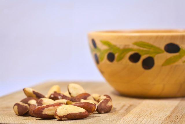 Paranüsse enthalten viel Vitamin E.