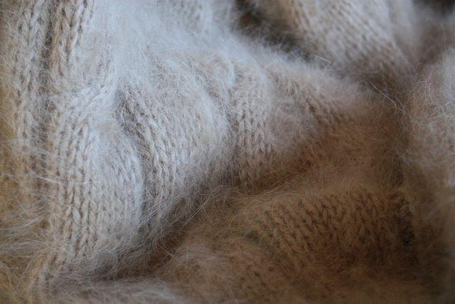 Angora-Wolle ist zwar weich, ihre Herstellung aber grausam