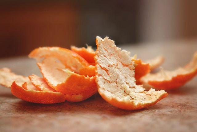 Wäscheduft mit Orangenschalen selber machen