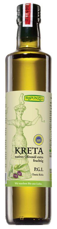 Ölivenöl-Test 2016: Rapunzel Kreta P.G.I., nativ extra