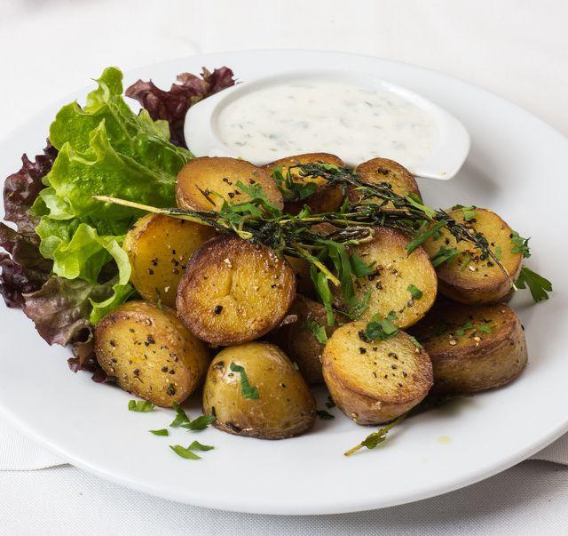 Mehr Kalium enthalten gebackene Kartoffeln.