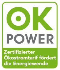Ökostrom-Siegel ok-power