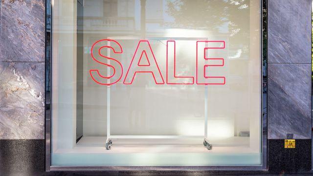Ausverkauf-Sale