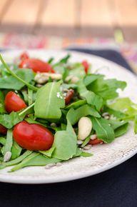 Rucola-Salat ist ein Klassiker.