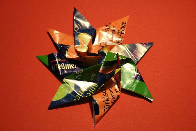 How to make Christmas stars step by step easy guide instructions