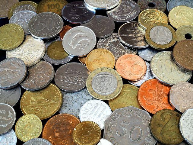 Auch in Münzen ist Nickel enthalten.