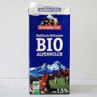 Berchtesgadener Land Milch mit Naturland Fair