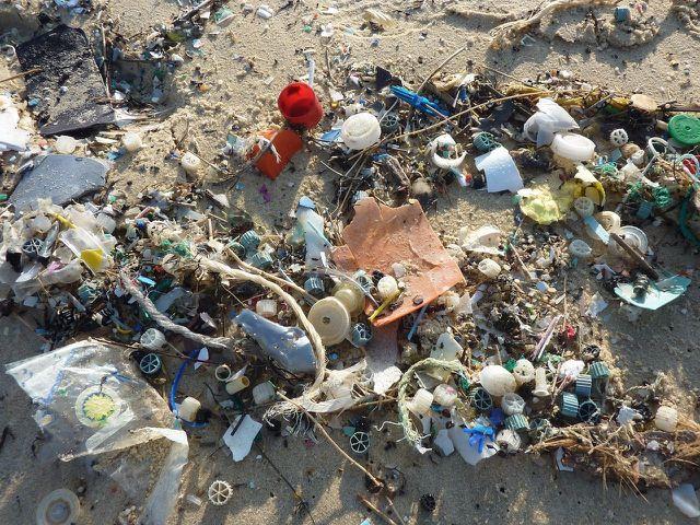 Plastik stellt ein enormes Umweltproblem dar