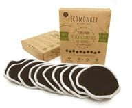 Die waschbaren Abschminkpads von ECOMONKEY sind sanft zur Haut.