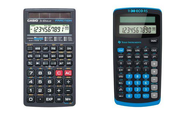 Casio FX-82 Solar, Texas Instruments TI-30 ECO RS: Taschenrechner mit Blauem Engel