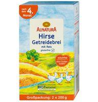 Testsieger: Der Bio Hirse Getreidebrei mit Reis von Alnatura