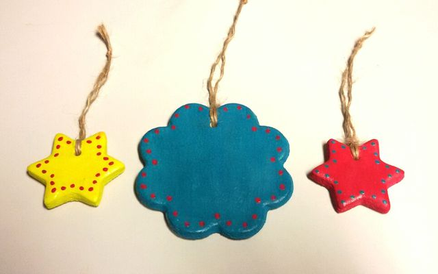 Salt dough ornaments recipe stars