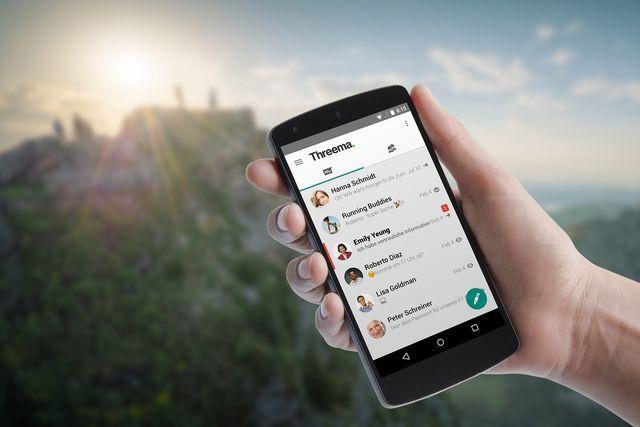 Sicheren Threema-Messenger statt WhatsApp nutzen