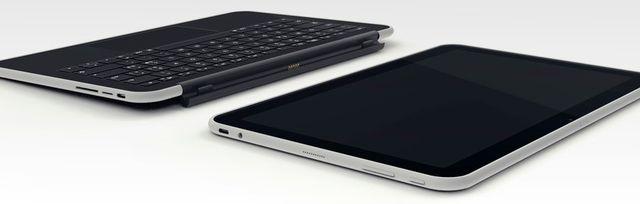 Shiftphones Shift 12 Tablop: mit der abnehmbaren Tastatur wird das Tablet zum Notebook