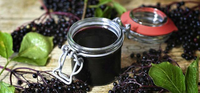 Holunderbeeren-Marmelade