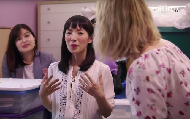 Tidying Up With Marie Kondo Netflix Series KonMari method at work