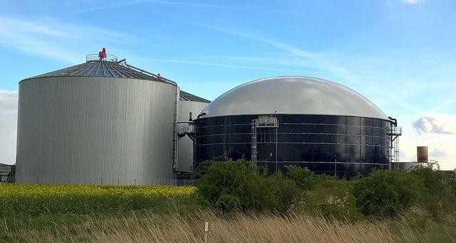 Biogas ist eine Alternative zu Gaskraftwerken.