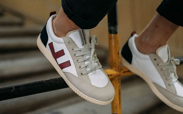 Trend-Schuhe: Flamingos