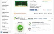 WeGreen auf Cyberport.de