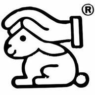 """Siegel für tierversuchsfreie Kosmetik: """"Hase mit schützender Hand"""""""