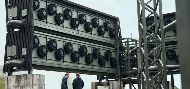 Orca: Die größte Anlage, die CO2 aus der Luft saugt.