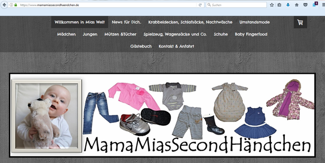 MamaMiaSecondHändchen ist ein kleiner, charmanter Online-SecondHand.