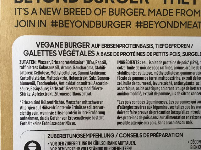 beyond burger inhaltsstoffe beyond meat