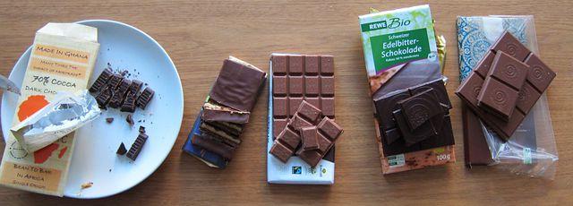 Faire Schokolade im Geschmackstest