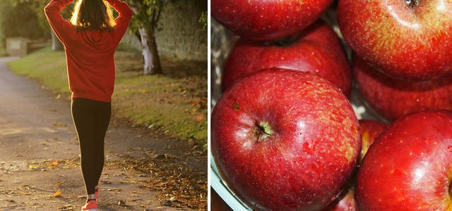 jogger apples stay fit