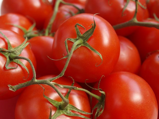 Tomaten gehören in jede Gazpacho-Suppe.