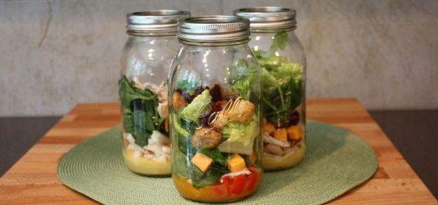 Mittagessen To Go: Schraubgläser eignen sich um alle Lebensmittel zu transportieren