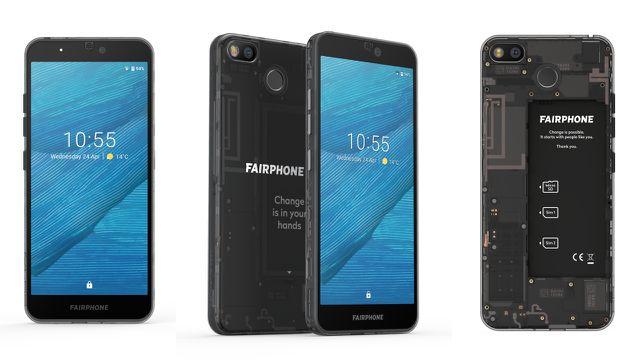 Länger und größer: das Fairphone 3