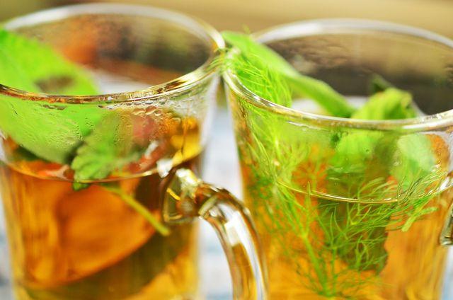 Marokkanischer Tee hat gesundheitsfördernde Eigenschaften.