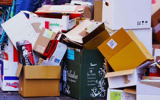 Online-Handel Verpackungen vermeiden