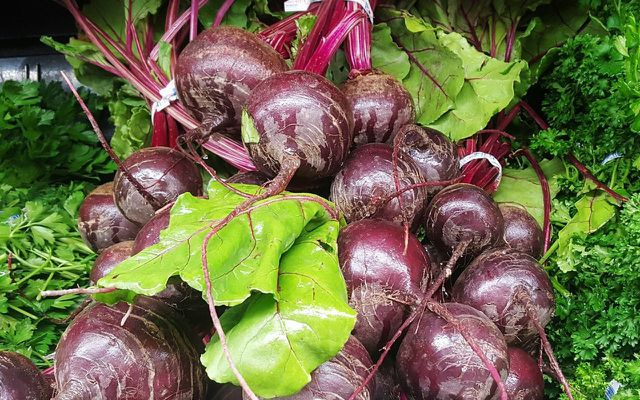 Vegetable scraps beets by