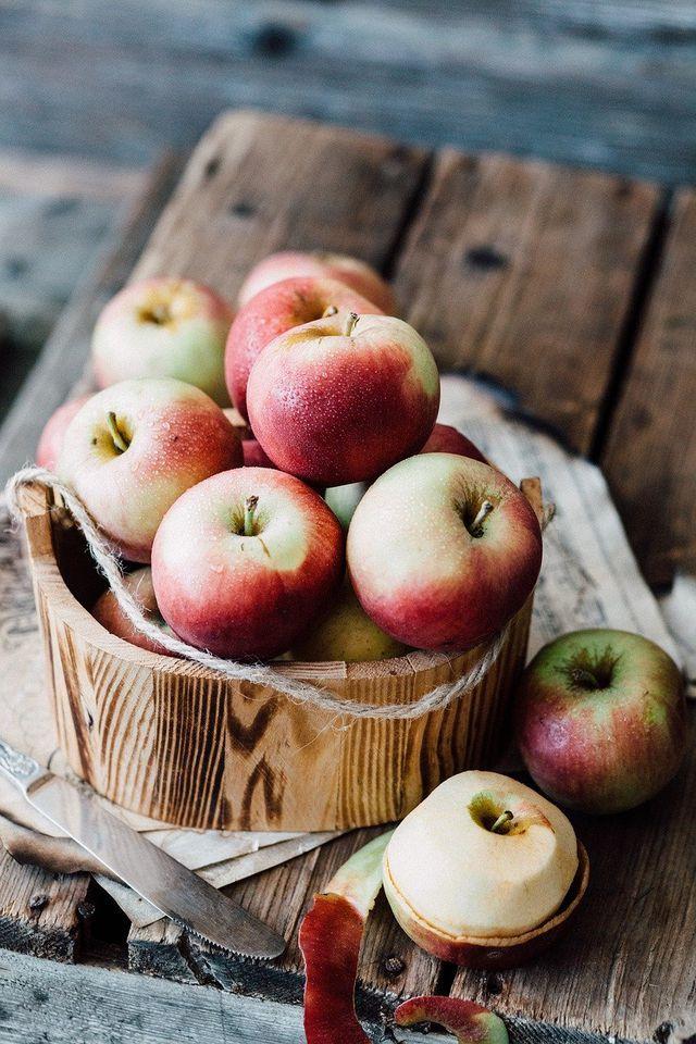 Regional und vielseitig: Äpfel.