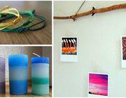Armband, Fotogalerie oder selbstgemachte Kerze: Es gibt viele kreative DIY-Geschenke.