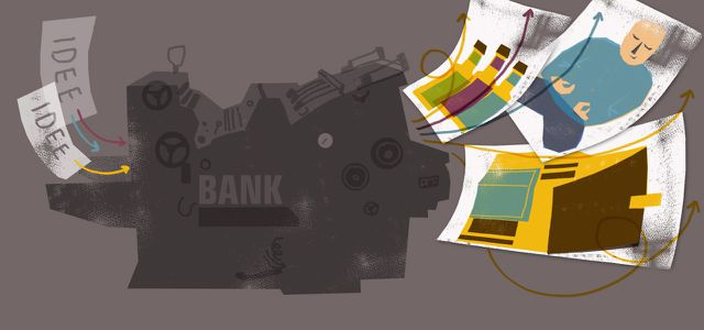 Erstaunliche Projekte von Banken