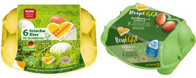 Diese Eier sind jetzt bei Rewe- und Penny-Märkten erhältlich. Vorerst leider nur in Berlin.