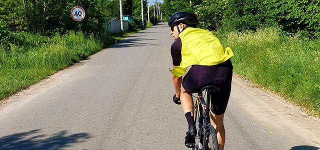Warnweste Fahrrad