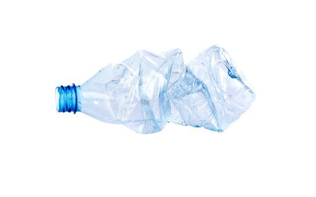 Faule Angewohnheiten Plastikflasche