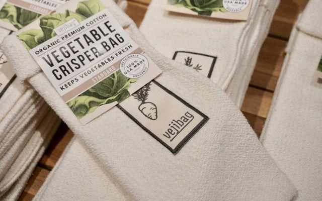 Plastic free reusable bags vegetables vejibag
