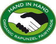 Fair Trade Schokolade kann auch das Rapunzel Hand in Hand Siegel haben