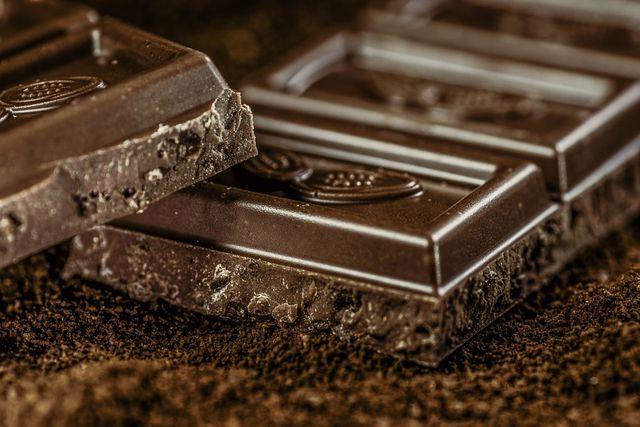 Schokolade hilft immer!