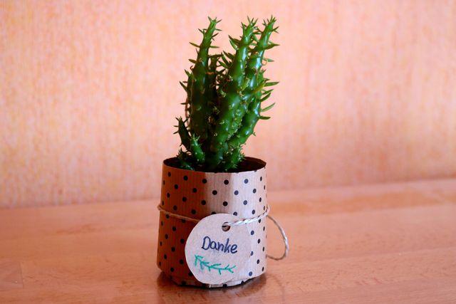 Gastgeschenke zur Hochzeit: Pflanzen als nachhaltige Erinnerung für deine Gäste.