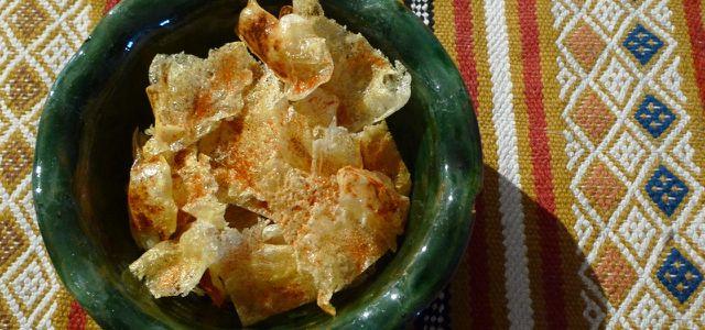 Low-Carb-Rezept: Snack aus Harzer Käse