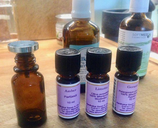 Naturreine Parfumöle zur Parfum-Herstellung