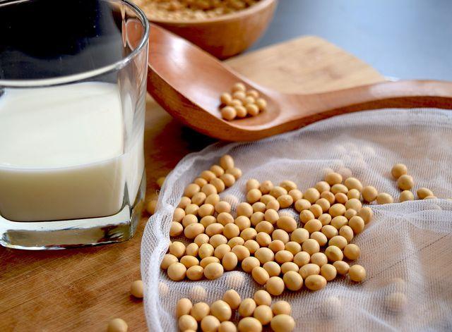 Soja-Milch ist eine vegane Alternative